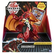 Battle Planet Bakugan - Dragonoid  Deluxe Figure and Card - New! - $17.82