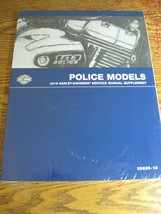 2016 Harley-Davidson Police Electra Glide Service Shop Manual Suppl New Wrap - $97.02