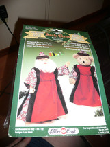 Heritage Fibre Craft Vintage Old World Santa Outfit New In Package 3 Pc.Outfit - $11.38