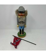 Lothar Junghanel Civil War Nutcracker Confederate Soldier - $128.69