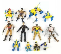 (Lot of 12) Wolverine Marvel X-Men Action Figures Transformer Collectibl... - $27.15