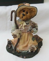 Boyds Bearstones #2453 Lil' Bear Peep - Got Sheep? Resin Figure-2E - $12.82