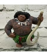 Disney Moana Figure Maui W Fishhook Solid - $17.82