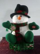 Dandee Musical Light Up Snowman Plays 'Let It Snow' - $37.39