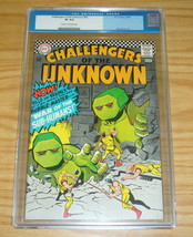 Challengers of the Unknown #54 CGC 8.0 silver age dc comics - bubble-mas... - $92.99