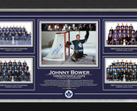 Framed photo johnny bower 4cups autographed 62of67 thumb155 crop