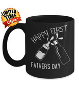 Worlds Best New Dad Coffee Mug Fathers Day Personalized Gift From Wife D... - $17.07+