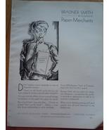 Vintage Paper Merchants Brander Smith & Company Print Magazine Ad 1930 - $12.99