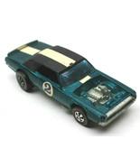 Original 1969 Hot Wheels Redline TNT-Bird Green Diecast Mattel Made In H... - $93.49