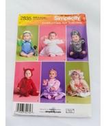 Simplicity 2835 Size XS S M L Angel Devil Multi Baby Costume Halloween U... - $9.99