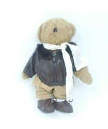 "Tender Heart Treasures Aviator Bear 14"" Plush 1992 RARE - $13.96"