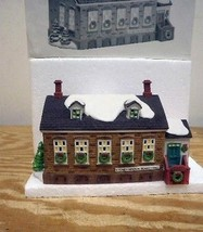 DEPT 56 56448 STONEY BROOK TOWN HALL  HERITAGE VILLAGE BUILDING   USED  D16 - $29.35