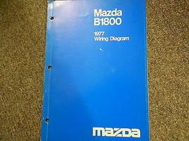 1977 Mazda B-1800 Truck Elektrisch Wiring Service Reparatur Shop Manuell 77 - $5.18