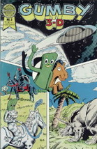Gumby in 3-D Comic Book #2 1986 Blackthorne 3-D #14 NEAR MINT NEW UNREAD - $5.94