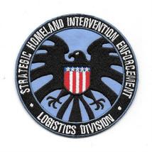 Iron Man Movie Homeland Enforcement S.H.I.E.L.D. Logo Embroidered Patch ... - $7.84
