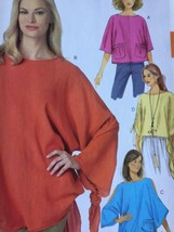 Butterick Sewing Pattern 6171 Ladies Misses Tunic Size L-XXL 16-26 New F... - $15.78