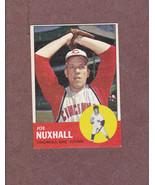 1963 Topps # 194 Joe Nuxhall Cincinnati Reds Nice Card - $3.99