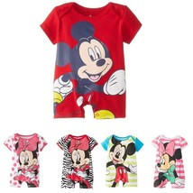 New Summer Baby Boy Clothes Infant Short Sleeved Cartoon Romper Girl New... - $18.32
