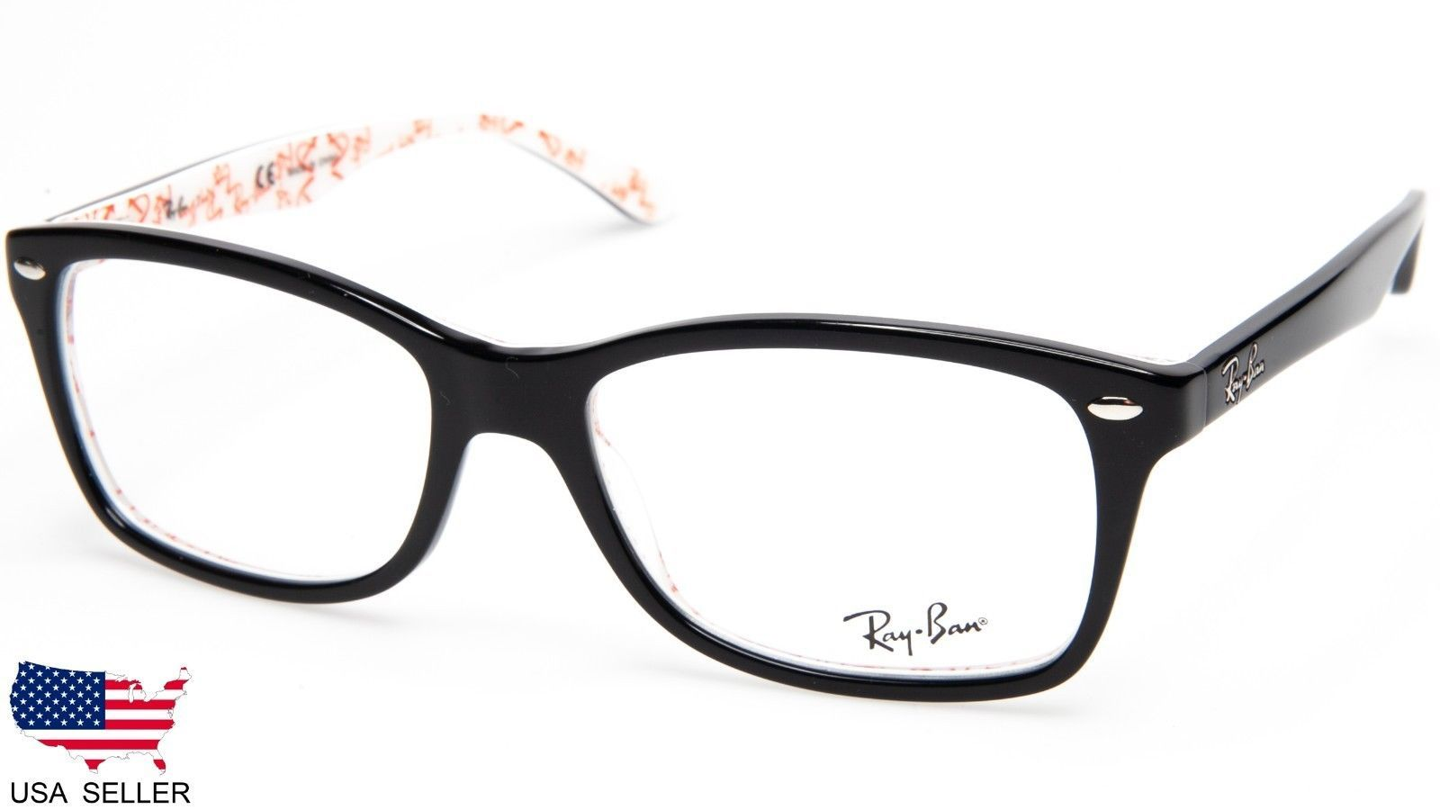 827c9d8851 New Ray Ban RB5228 5014 Top Black On Texture and 50 similar items. 57