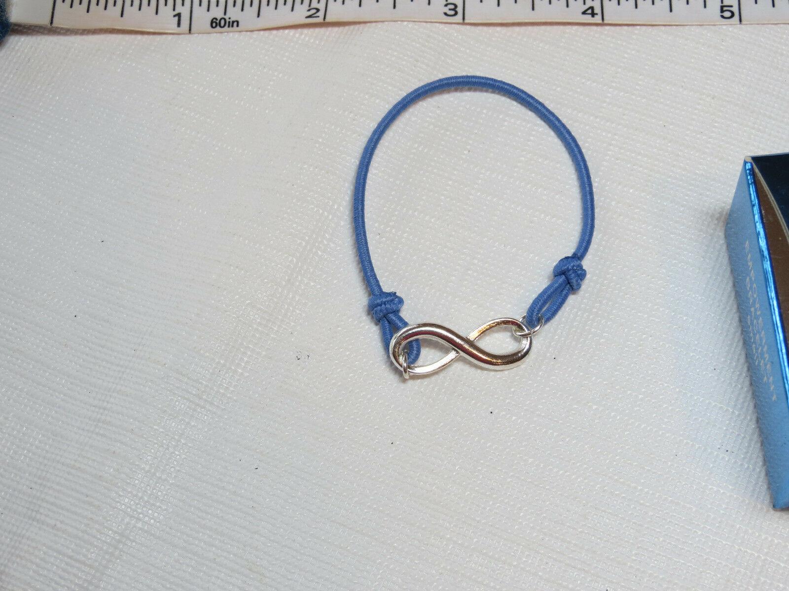 Donne Ragazze Avon Potenziamento Bracciale Piccolo Blu F3216611 Nip image 3