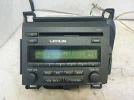 14 15 16 17 Lexus CT200h Radio Cd Player 86120-76051 510001 OTP32 CP Parts Only - $69.30
