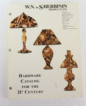 WN de Sherbinin Products Lamp Catalog Hardware 21st Century Repair Refur... - $9.87
