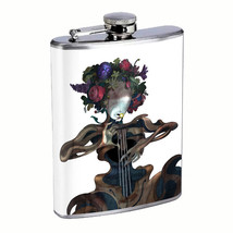 Mother Nature Tree Music Life Em1 Flask 8oz Stainless Steel Hip Drinking Whiskey - $13.81