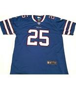 Buffalo Bills LaSean McCoy #25 NFL Nike AFC East Blue Red White Jersey L - $39.59
