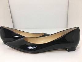 Ivanka Trump Tizzy Black Patent Vomen's Flats Size 9 M - $52.57