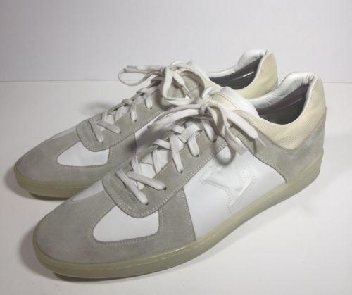 4a09aba42fc0 12. 12.  775 LOUIS VUITTON White Grey Suede Leather Sneaker Shoes Mens Sz LV  11   12 us ·  775 LOUIS VUITTON ...