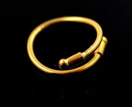"22k 22ct Solid Gold ELEGANT LADIES Designer BAND Ring SIZE 6.0 ""RESIZABLE""  - $328.23"
