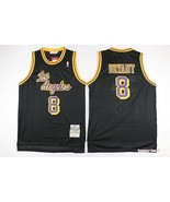 Los Angeles Lakers 8 Kobe Bryant Black Basketball Jersey.jpg - $26.66