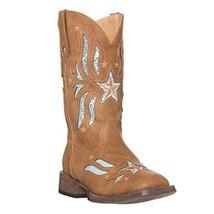 Children Western Kids Cowboy Boot,Tan,9 M US Little Kid - $86.46
