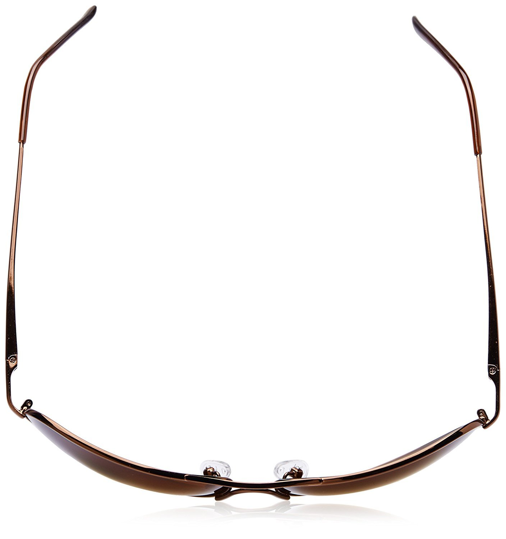 Fastrack Aviator Unisex Sunglasses - (M050BR5 64 Brown)