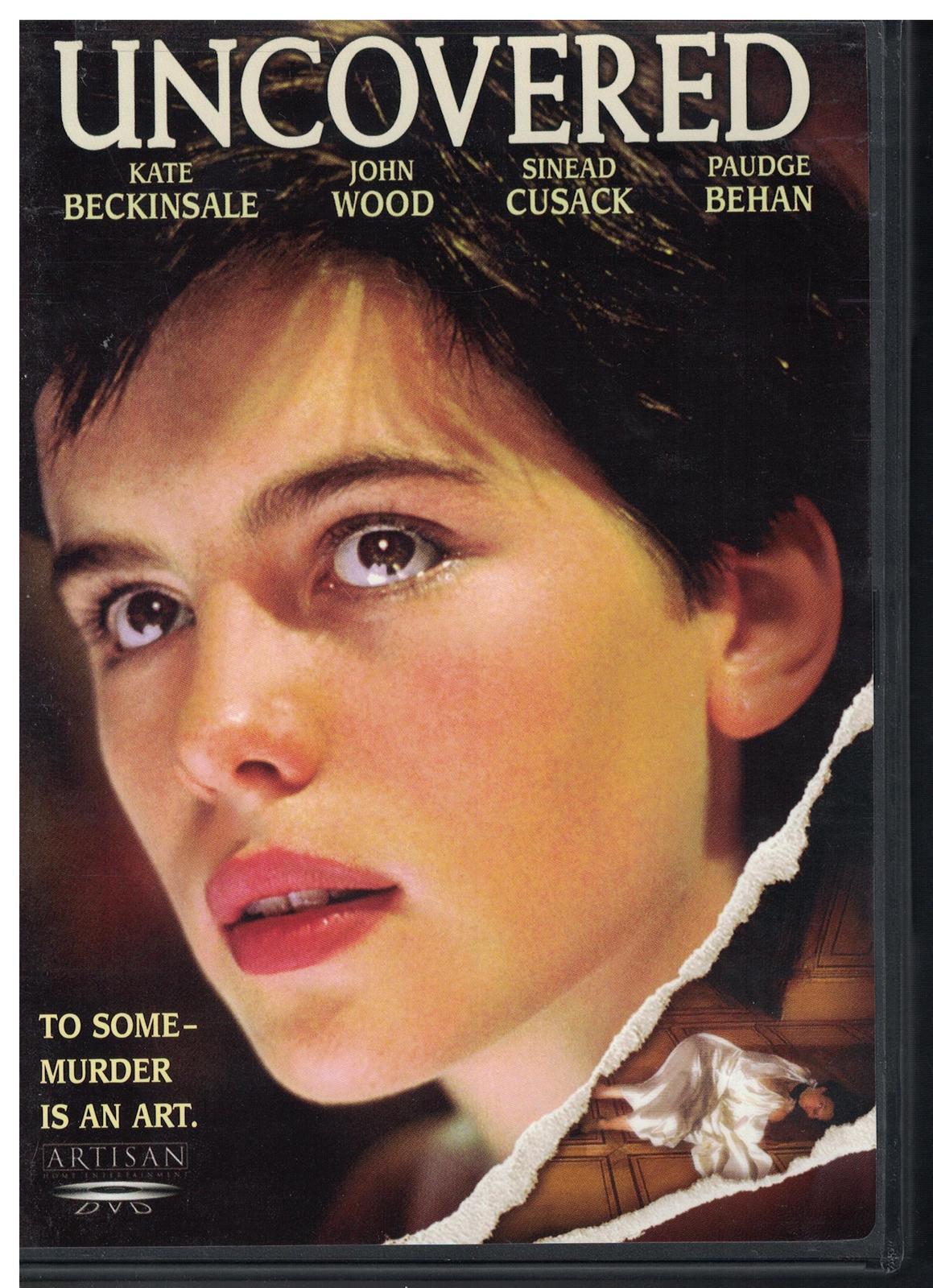 Uncovered DVD 1995 Kate Beckinsale John Wood Suspense Thiller full screen