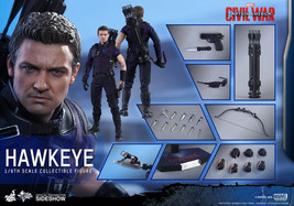 Hot Toys Hawkeye Captain America Civil War 1/6 Scale Figure Jeremy Renner - $373.07
