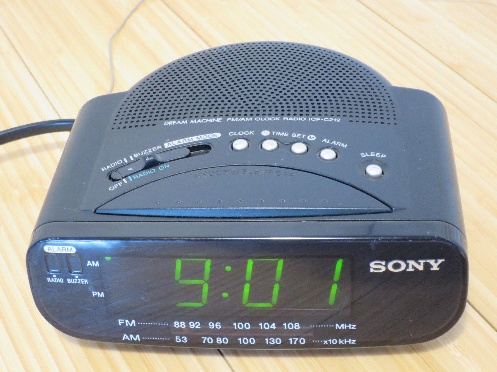 Sony Dream Machine Alarm Clock Radio AM FM and 50 similar items