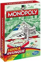 Monopoly Travel Portable Version Italian Hasbro - $12.00