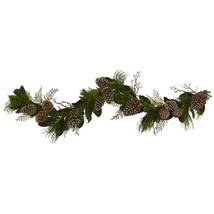 6 Ft Pine Cone and Pine Artificial Garland - $81.00