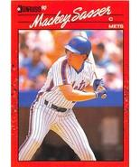 1990 Donruss #471 Mackey Sasser NM-MT Mets - $0.99