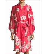 new NATORI women Magnolia gown dress pajamas G74196M red flowers M MSRP ... - $48.99