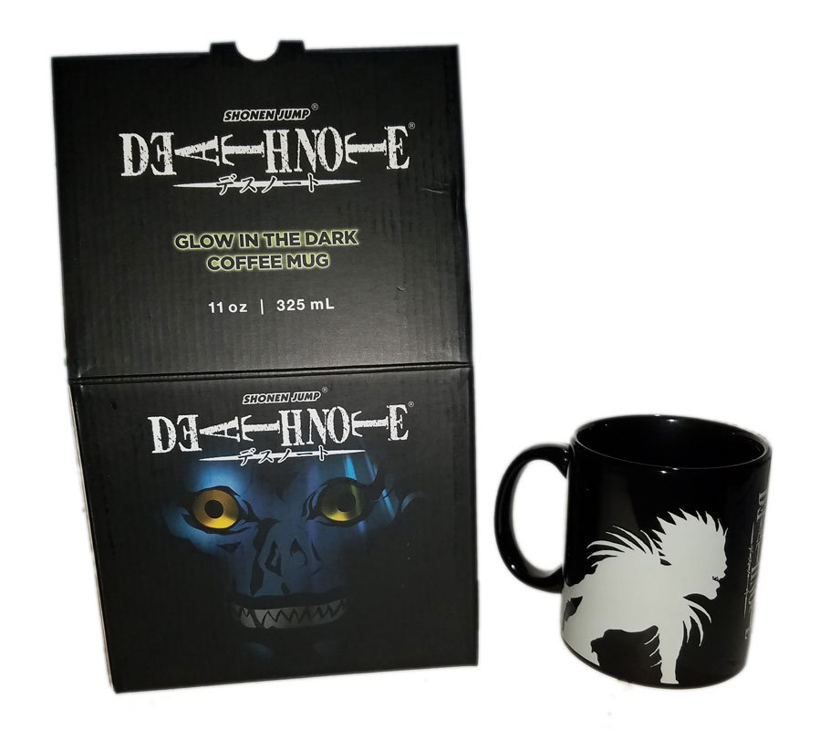 Loot Anime Crate Exclusive Death Note Glow in the Dark Mug