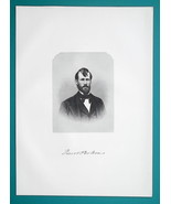 JACOB PERKINS Ohio Capitalist & Railroad Promoter - 1883 Superb Portrait... - $19.80