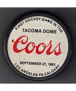 1993 COOPER COORS FIRST GAME TACOMA DOME CALGARY FLAMES LOS ANGELES KING... - $49.99