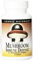 Source Naturals Mushroom Immune Defense 30 Tablets - $11.99