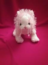 "14"" RARE Ganz Webkinz Pink & White Kitty Cat Plush Toy Stuffed Animal Free Shipp - $17.30"