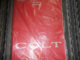 1971 Dodge Colt Service Shop Repair Manual FACTORY BOOKS OEM 71 - $14.75