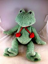 Gund Stumpy The Frog beanbag Plush 13 inches - $10.39