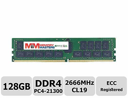 MemoryMasters 128GB DDR4 2666MHz PC4-21300 Registered ECC 1.2V CL19 2S4Rx4 288 P - $989.99