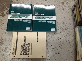 2000 Suzuki Swift Service Shop Repair Workshop Manual Set W Mitchell's Book - $89.05
